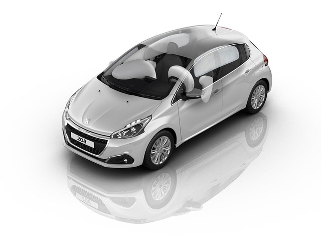 PEUGEOT 208 5 Portes airbags